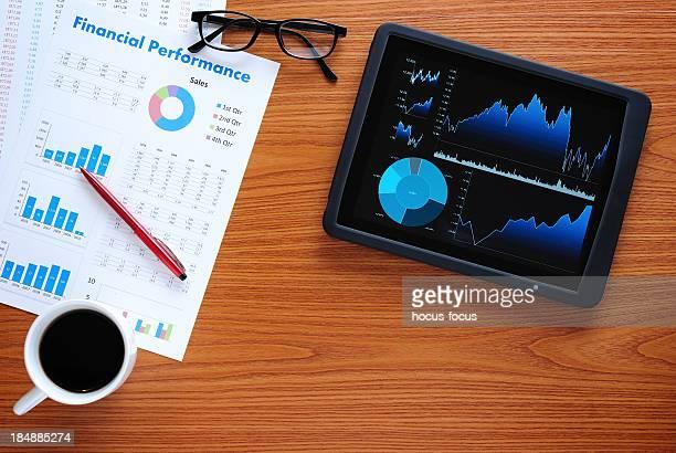 Business-Schreibtisch