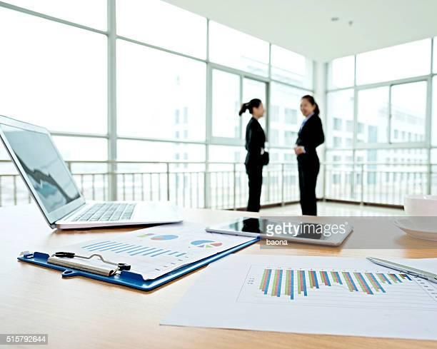 Unternehmen diskutieren.