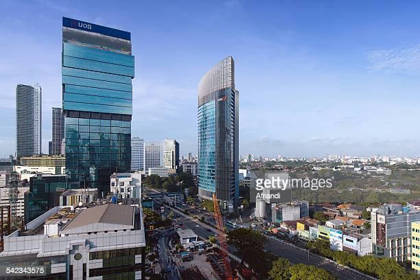 Business district, Jakarta