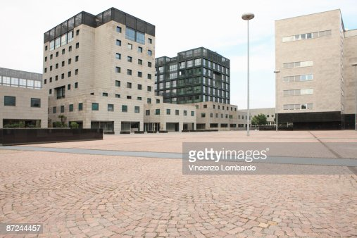 Business District, Milan, Lombardy, Italy. : Stock Photo