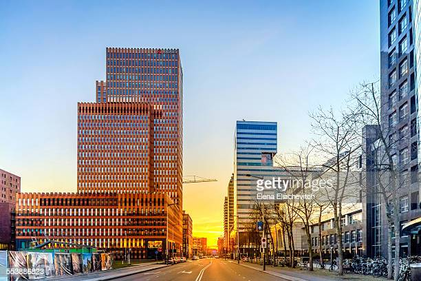 Business district Zuidas,Amsterdam
