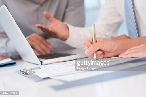 Business documents : Stock Photo