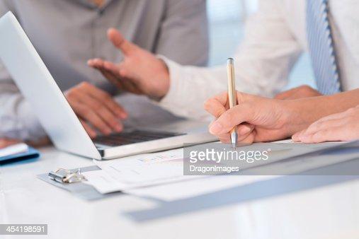 Documentos de negócios : Foto de stock