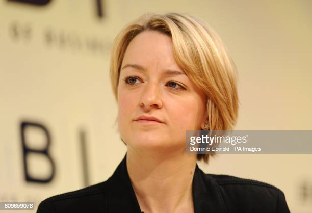 ITV Business Editor Laura Kuenssberg at the CBI conference at the Grosvenor House hotel in central London