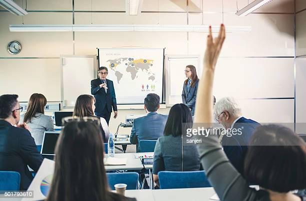 Business-Bildung-Gruppe