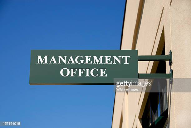 Business, Executive, or Corporate Management Office Sign