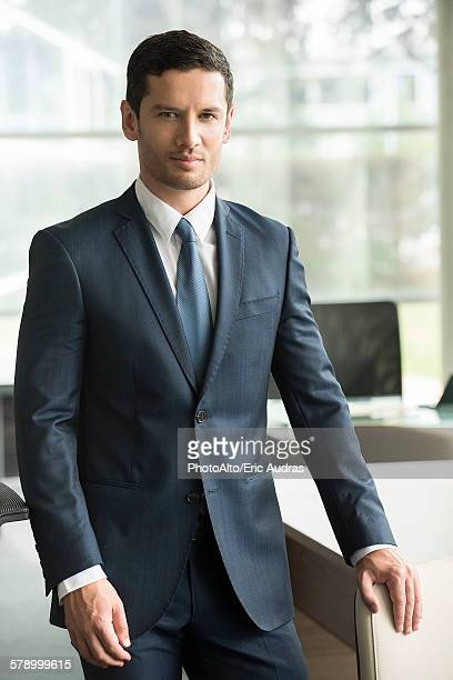 Business executive, portrait