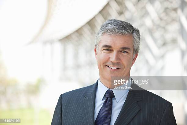 Business Executive Smiling