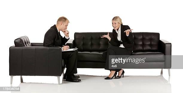 Business Manager diskutieren