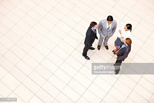 Business Executives In a Casual Discussion
