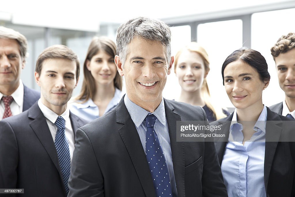 Business executives, portrait