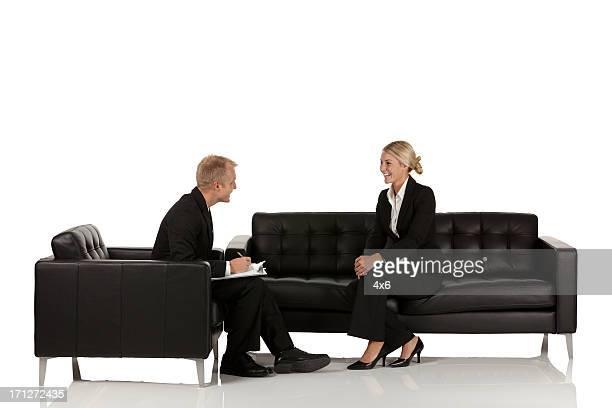 Business Manager sprechen mit einander