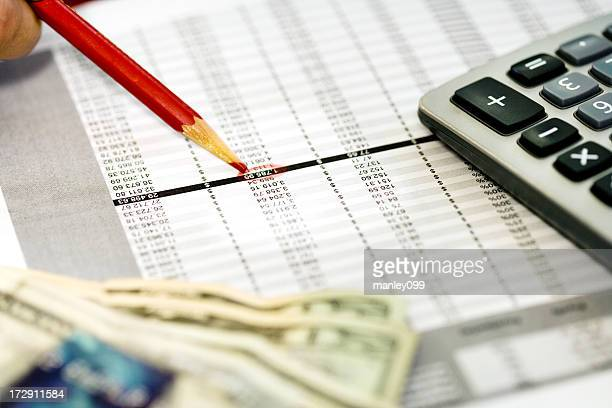 business expenses background