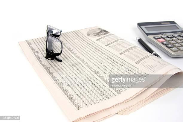 Business Finance Newspaper