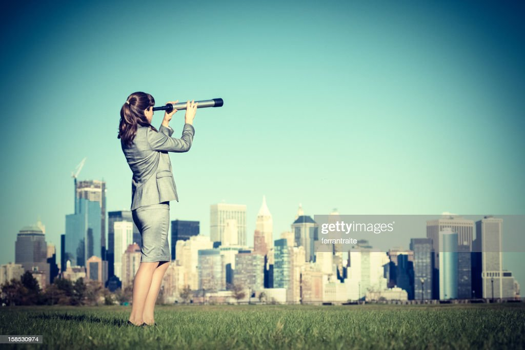 Business Forecast : Stock Photo