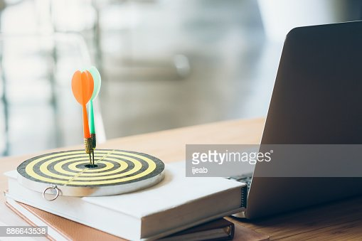 Business Goal setting and Planing Strategy concept. : Stock Photo