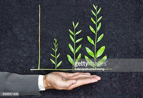 Unternehmenswachstum mit csr : Stock-Foto