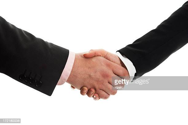 Business handshake-Angebot