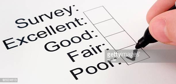 Business Image: Customer Survey