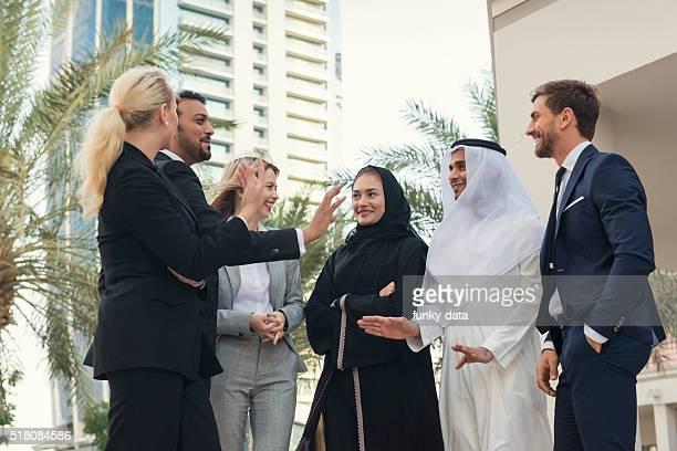 D'affaires à Dubaï