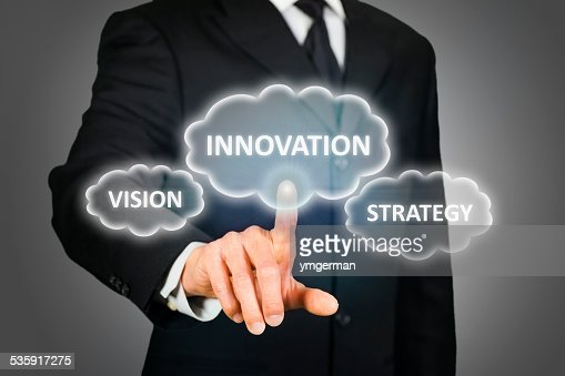 Business innovation, vision and strategy : Stock Photo