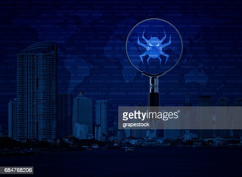 Business internet security concept, Elements of this image furnished by NASA : Stock Photo