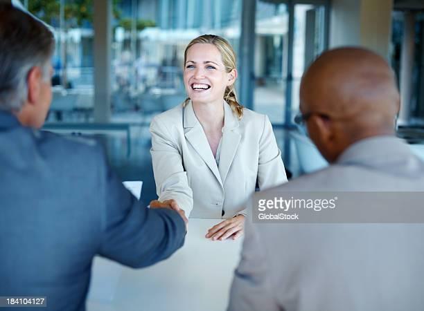 interview d'affaires