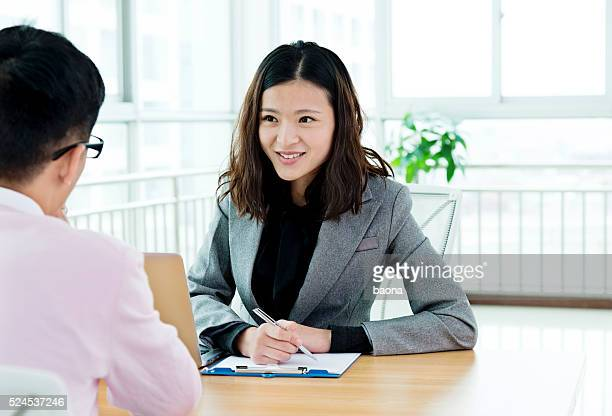 Business-interview