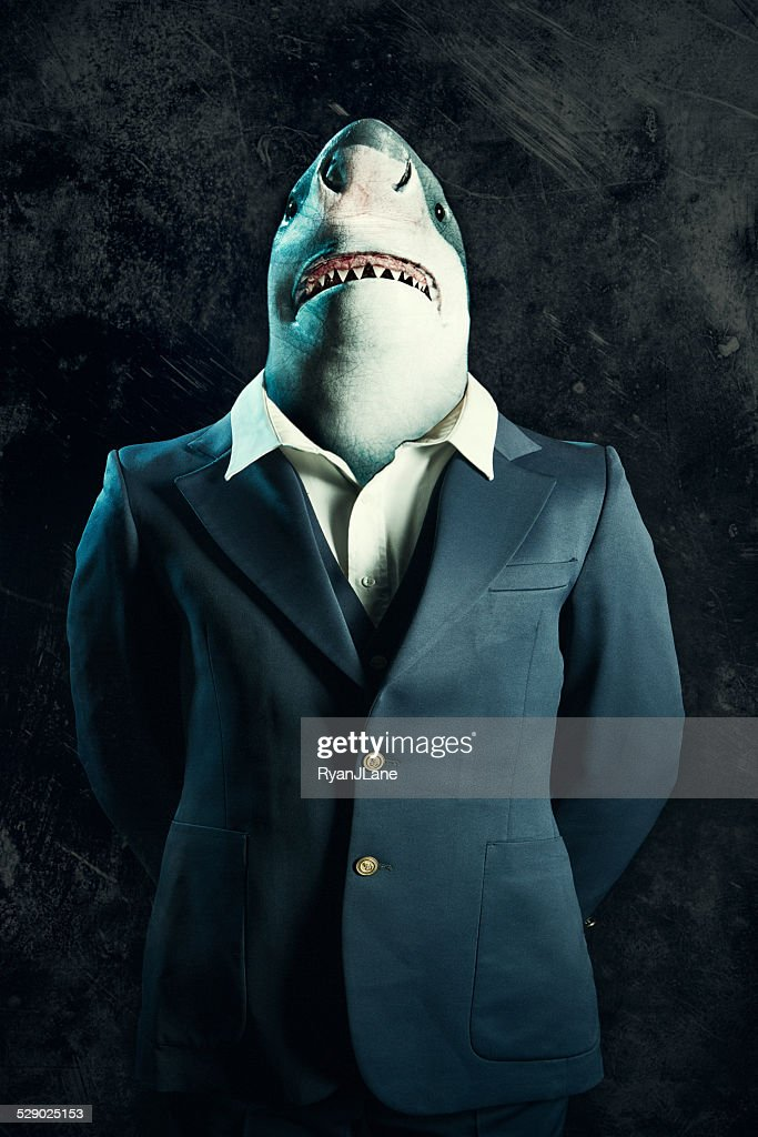Business Loan Shark Stock Photo | Getty Images