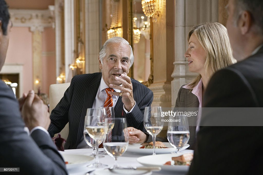 Business Lunch : Stock Photo