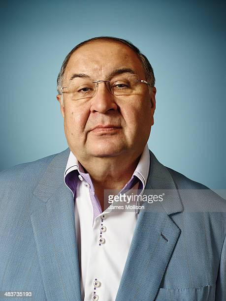 Business magnate Alisher Usmanov is photographed for Bloomberg Markets magazine on July 25 2013 in London England
