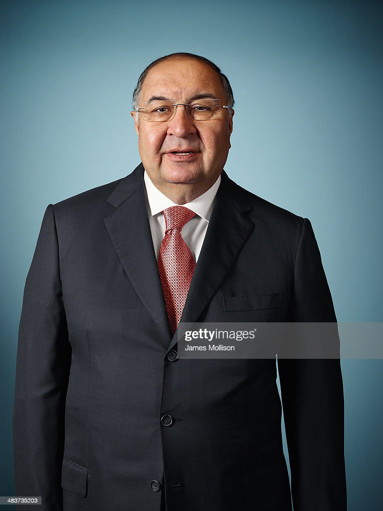 Business magnate <a gi-track='captionPersonalityLinkClicked' href=/galleries/search?phrase=Alisher+Usmanov&family=editorial&specificpeople=5595265 ng-click='$event.stopPropagation()'>Alisher Usmanov</a> is photographed for Bloomberg Markets magazine on July 25, 2013 in London, England.