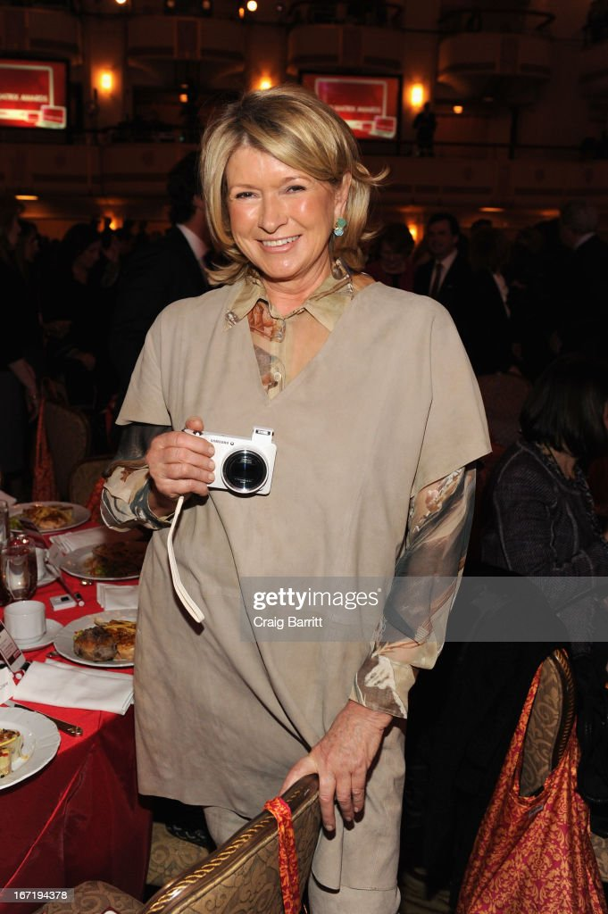 Business magnate Martha Stewart attends the New York Women In Communications 2013 Matrix Awards on April 22, 2013 in New York City.