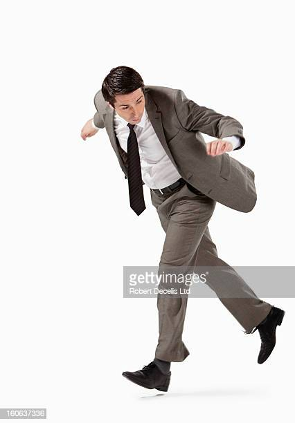 Business man Falling over