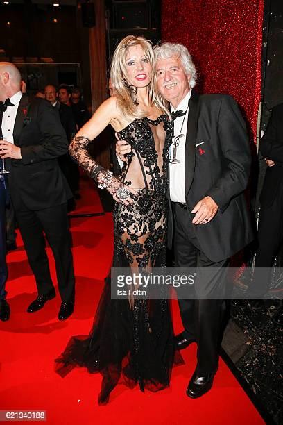 Business man HansGeorg Muth and his wife Gisela Muth attend the aftershow party during the 23rd Opera Gala at Deutsche Oper Berlin on November 5 2016...