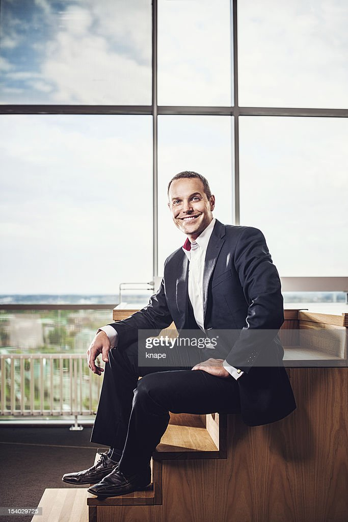 Business man in office