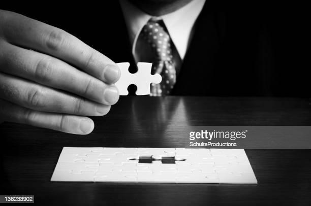 Uomo d'affari Puzzle