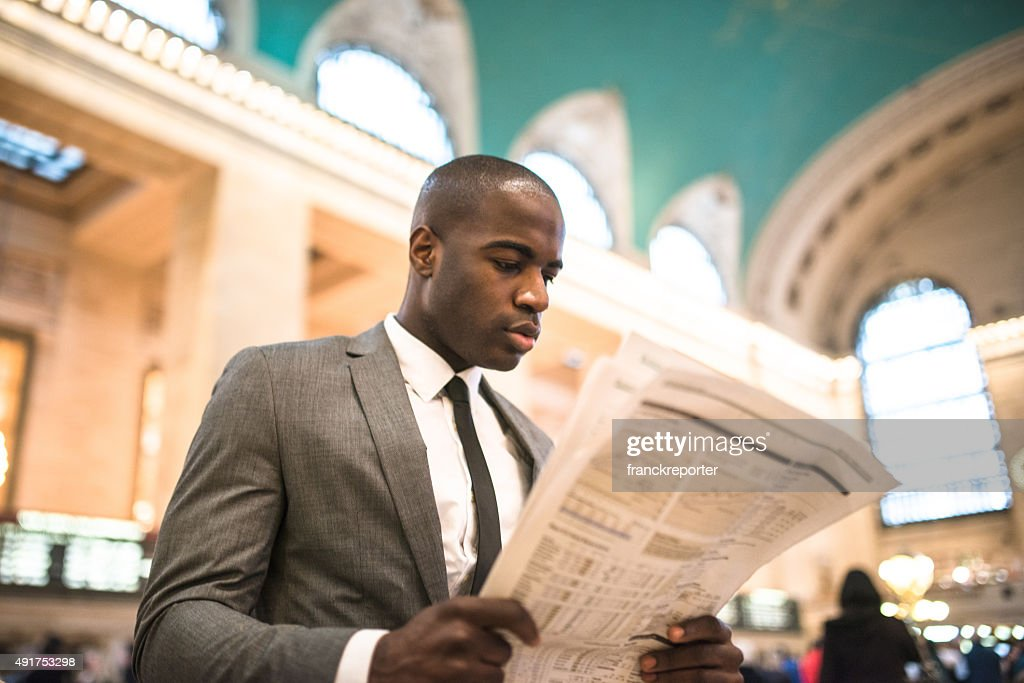 business man portrait in nyc : Stock Photo