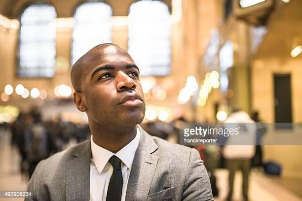portrait de l'homme d'affaires à New York
