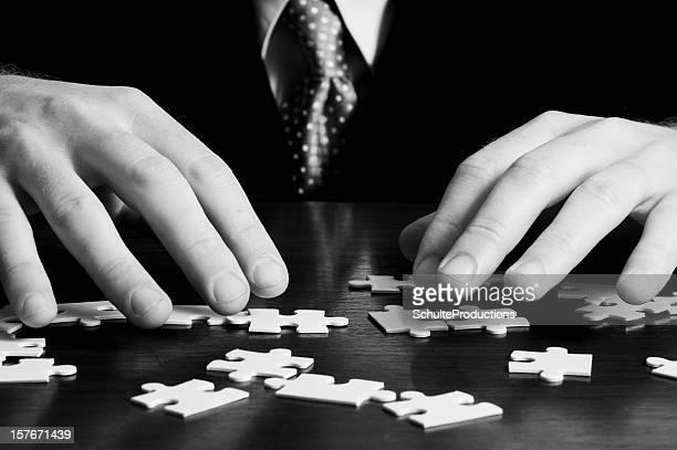 Puzzle Homme d'affaires