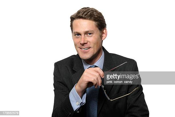 Business Man Smiles
