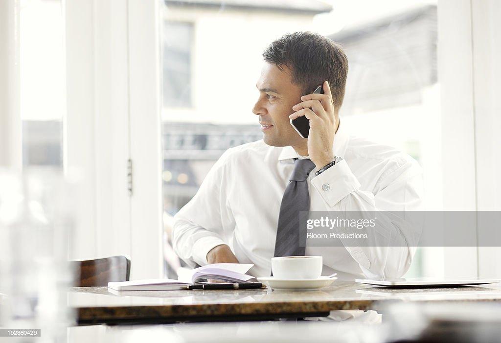 business man using technology : Stock Photo