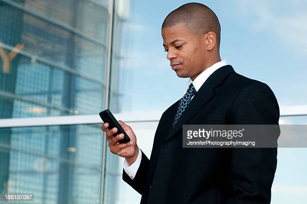 Business Man with a Smart Phone