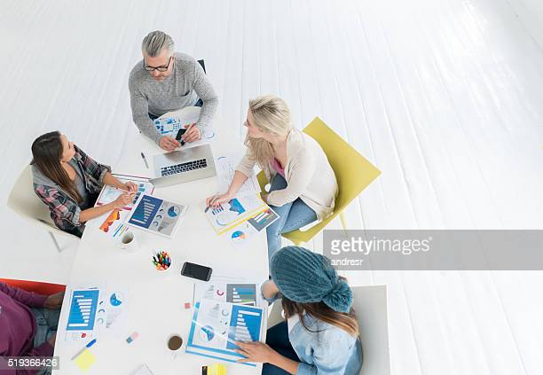 Business meeting at a creative office