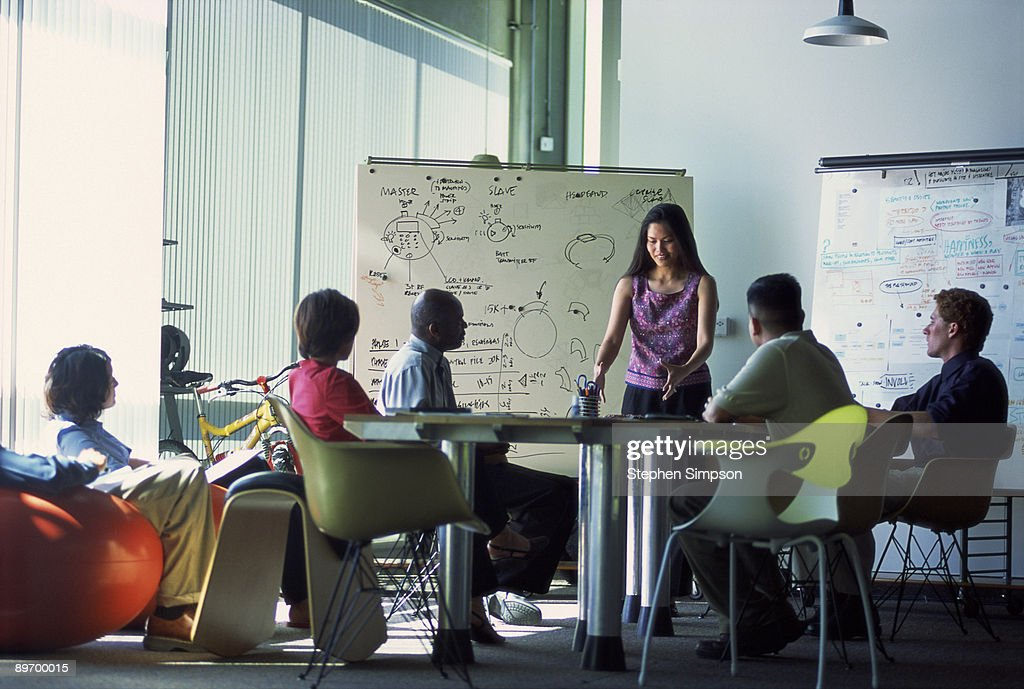 Business meeting in conference room : Stock Photo