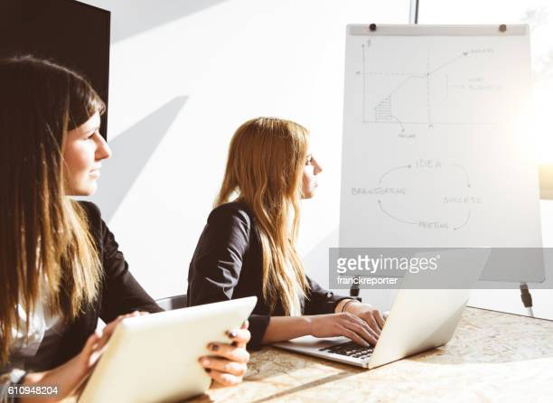 business meeting in the meeting room