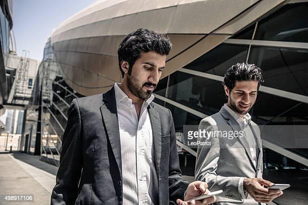 Business men on travel