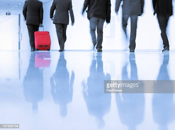 Business men walking