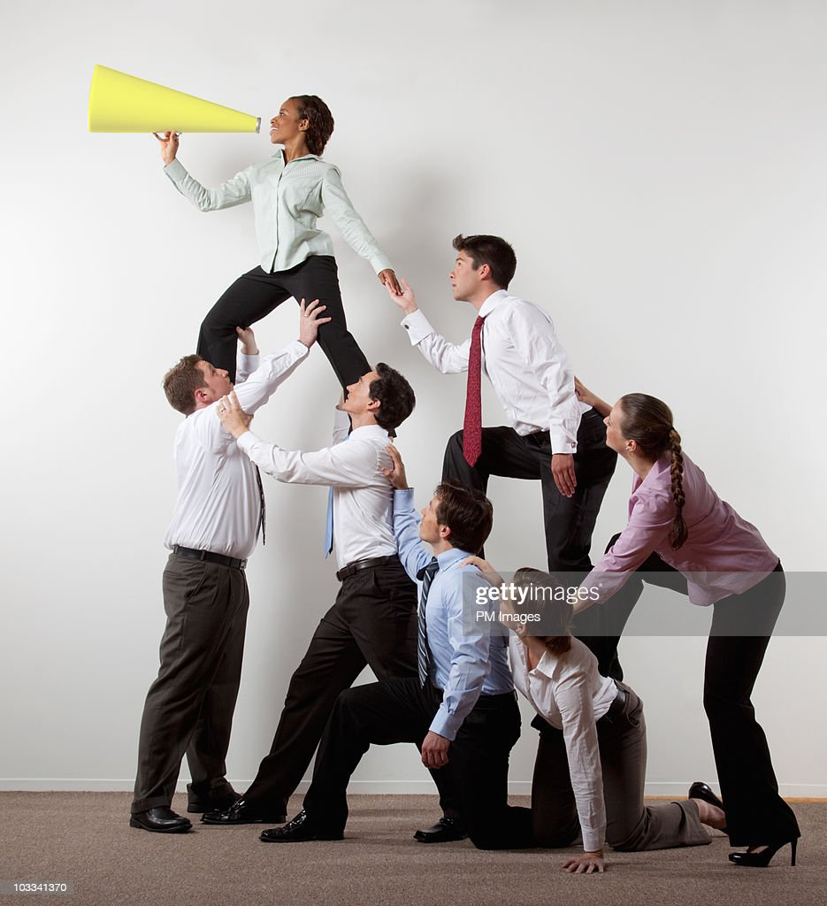 Business Message : Stock Photo