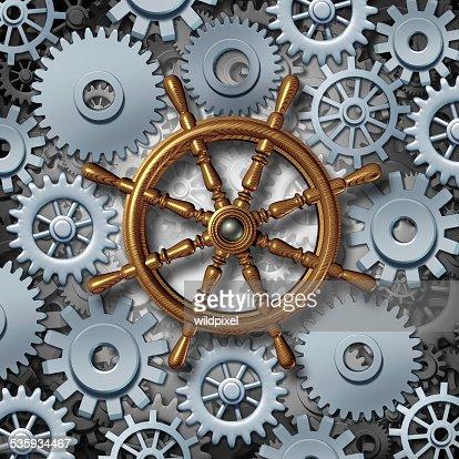 Business Navigation : Stock Photo